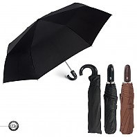[3단우산] 도브 3단65 완전자동 곡자손잡이 우산