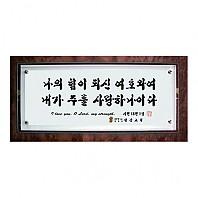 [강화유리말씀액자] 나의힘(벽걸이형)