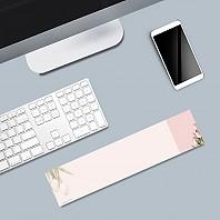 플라워 메모패드 2 핑크 튤립 / 키보드 메모지